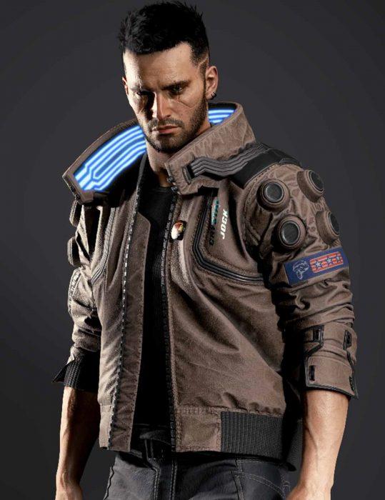 cyber punk samurai original jacket