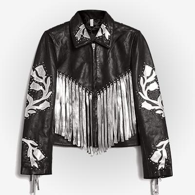 Birds of Prey Harley Quinn Fringe Jacket
