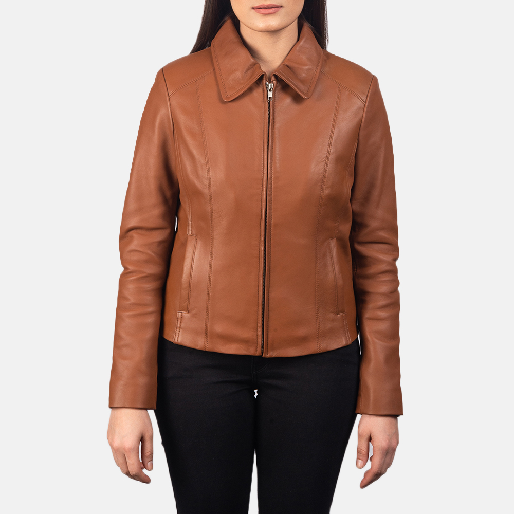 Womens Colette Brown Jacket