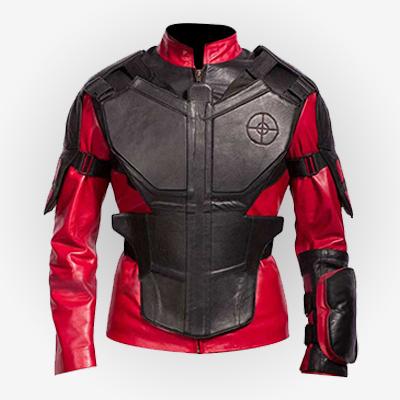 Suicide Squad Deadshot Leather Jacket