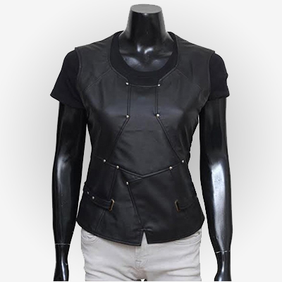 Gamora Guardians Of The Galaxy 2 Leather Vest