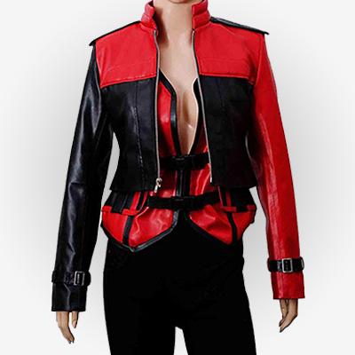 Injustice 2 Harley Quinn Leather Jacket and Vest