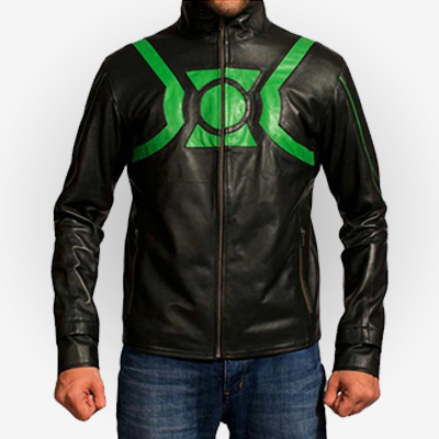Green Lantern Justice League Jacket