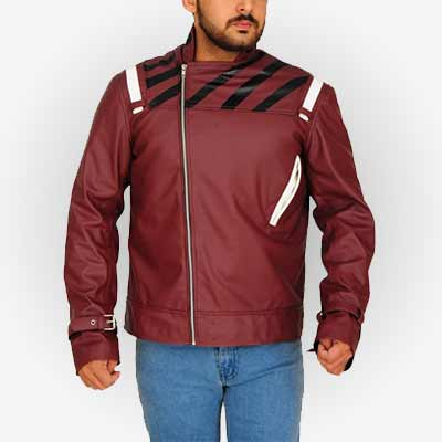 No More Heroes 2 Travis Touchdown Leather Jacket