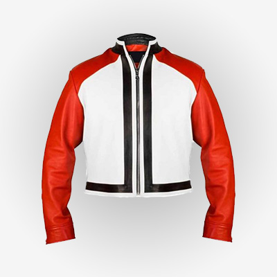 King of Fighters 14 Rock Howard Leather Jacket