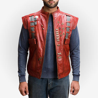 Guardians of the Galaxy Star Lord Leather Vest