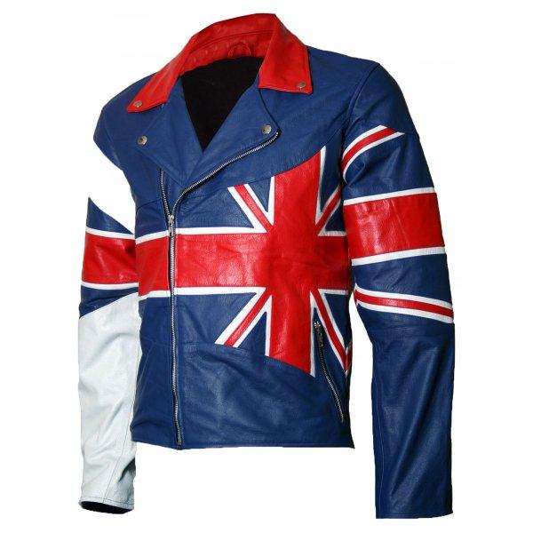 Mens Union Jack Flag Jacket