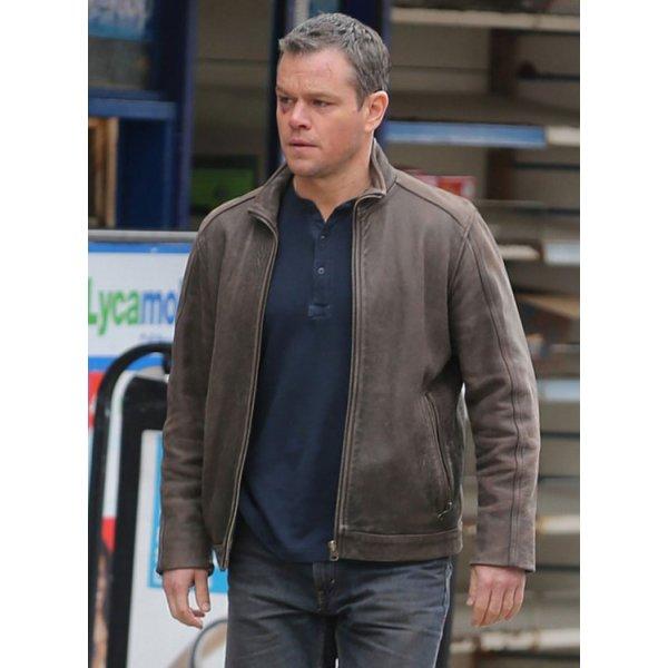 Mens Matt Damon Jason Bourne Jacket