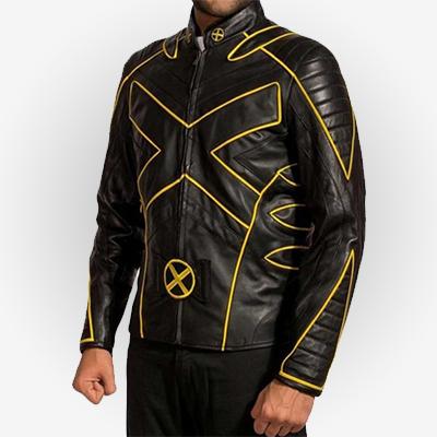 X-Men Last Stand Wolverine Hugh Jackman Leather Jacket