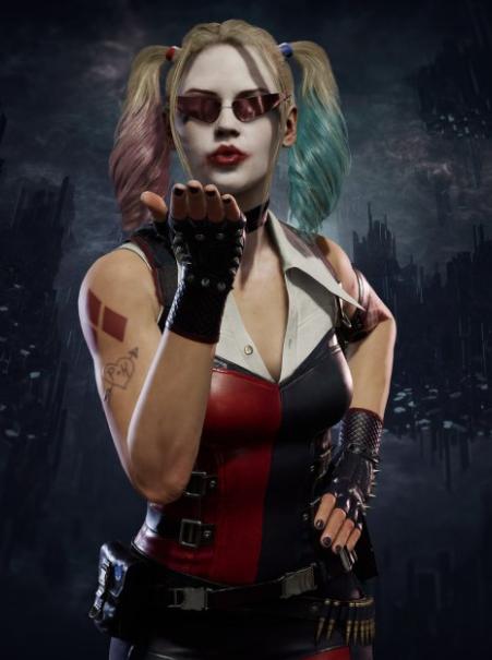 Mortal Kombat 11 Harley Quinn Jacket
