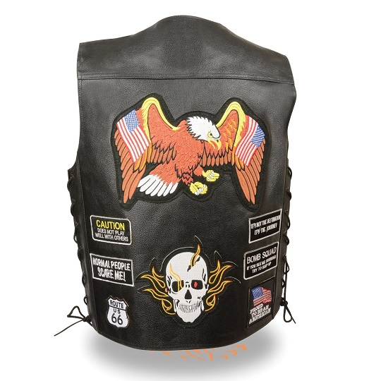 Leather-Vest-with-eAGLE-AND-SKULL-Patches.