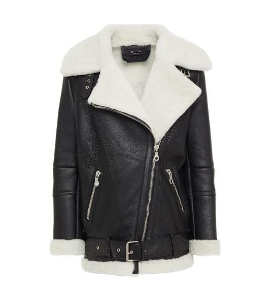 White Shearling Jacket