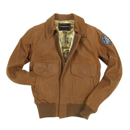 Men's Brown Raider Aviator Jacket