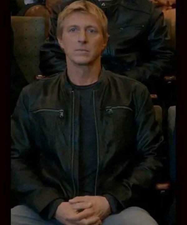 Cobra Kai S03 Johnny Lawrence Leather Jacket