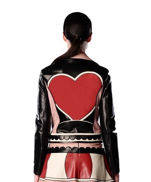 heart valentine jacket
