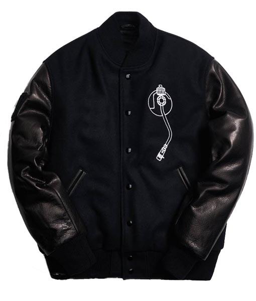 Def Jam Black Varsity Jacket