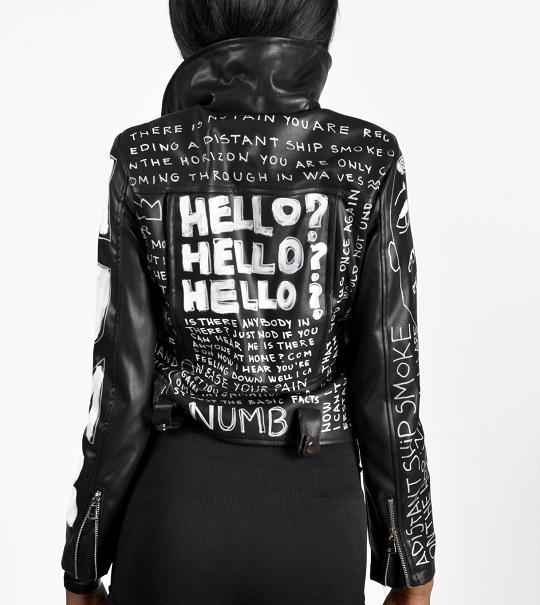 Numb-hand-painted-black-jacket