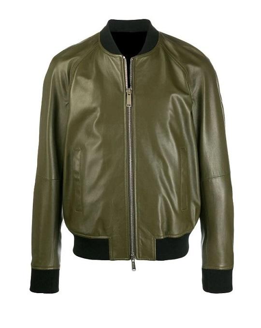 Olive-Green-Bomber-Jacket