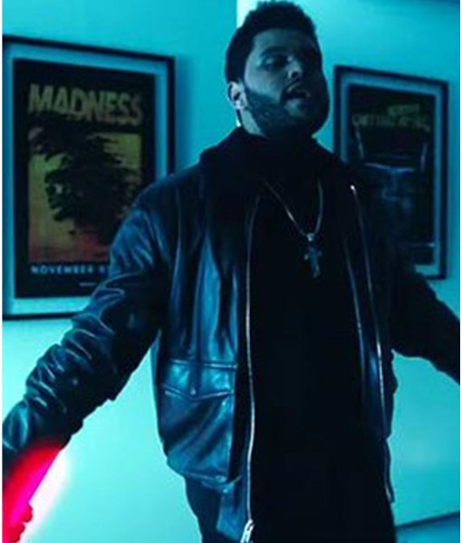Starboy The Weeknd Leather Jacket