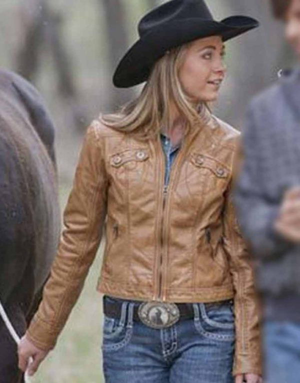 Heartland S14 Amber Marshall Leather Jacket