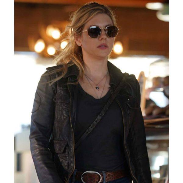Big Sky Jenny Hoyt Brown Leather Jacket