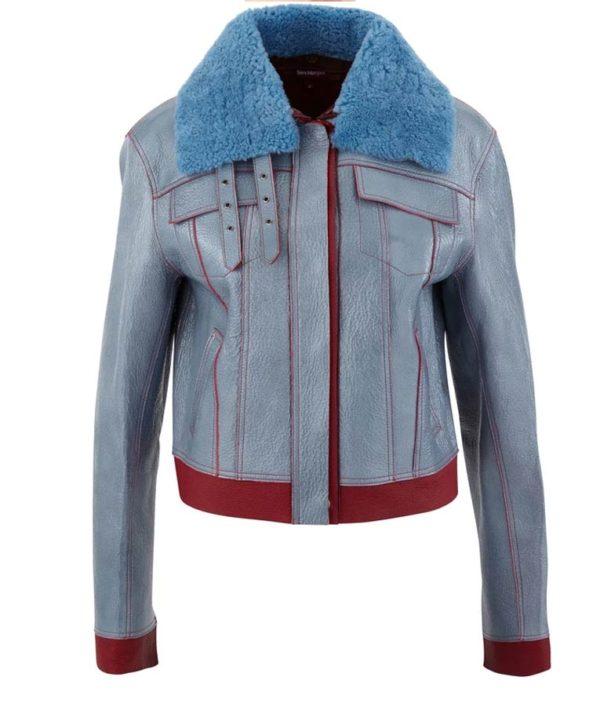 Love Life Sara Yang Shearling Leather Jackets