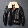 Vintage Flight Black Aviator Jacket
