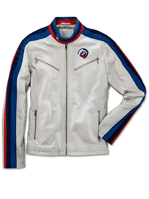 BMW Classical Mens Leather Jacket