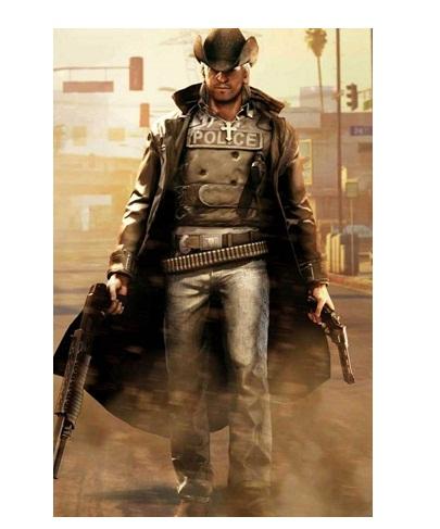 Call of Juarez Bound in Blood Cowboy Coat