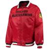 Chicago Blackhawks Captain II Satin Full-Zip Jacket
