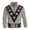 Daredevil Evel Knievel Leather Biker Jacket