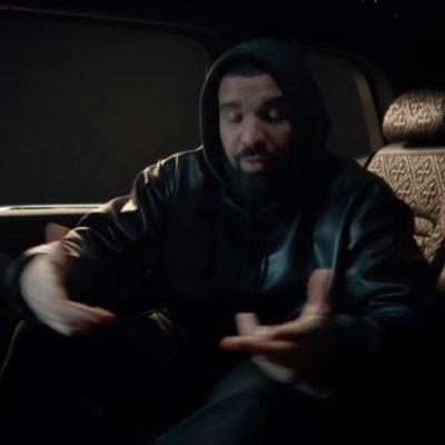 Drake What's Next Leather Hoodie Jacket