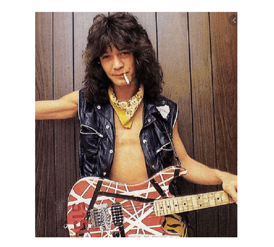 Eddie Van Halen Black Vest