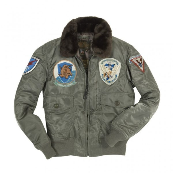 G-1 US Fighter Bomber Jacket With Patches