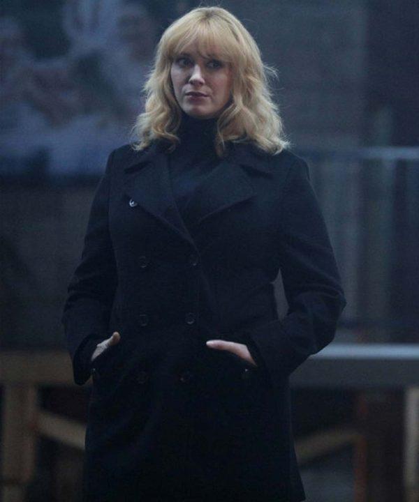Good Girls Beth Boland Black Coat