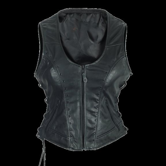 Ladies High Mileage With Studs Vest