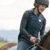 Heartland Amy Fleming Black Leather Vest