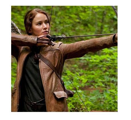 Hunger Games Katniss Everdeen Leather Jacket