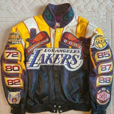 Lakers 2000 Championship Jacket