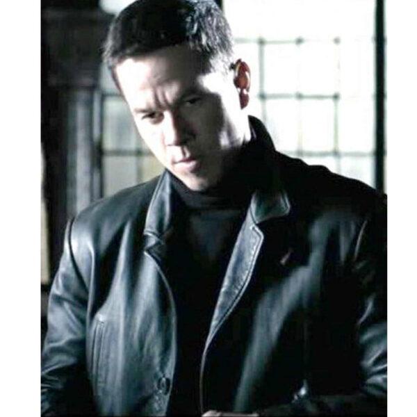 Men's Max Payne Mark Wahlberg Leather Jacket