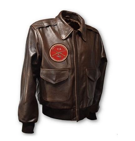 Men's Modern A-2 Leather Jacket