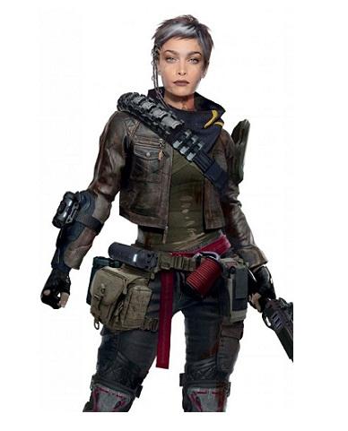 Cyberpunk 2077 Nomad Cropped Leather Jacket