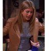 Friends Rachel Green Jennifer Aniston Brown Jacket