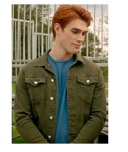 Riverdale S05Ep03 Archie Andrews Green Jacket