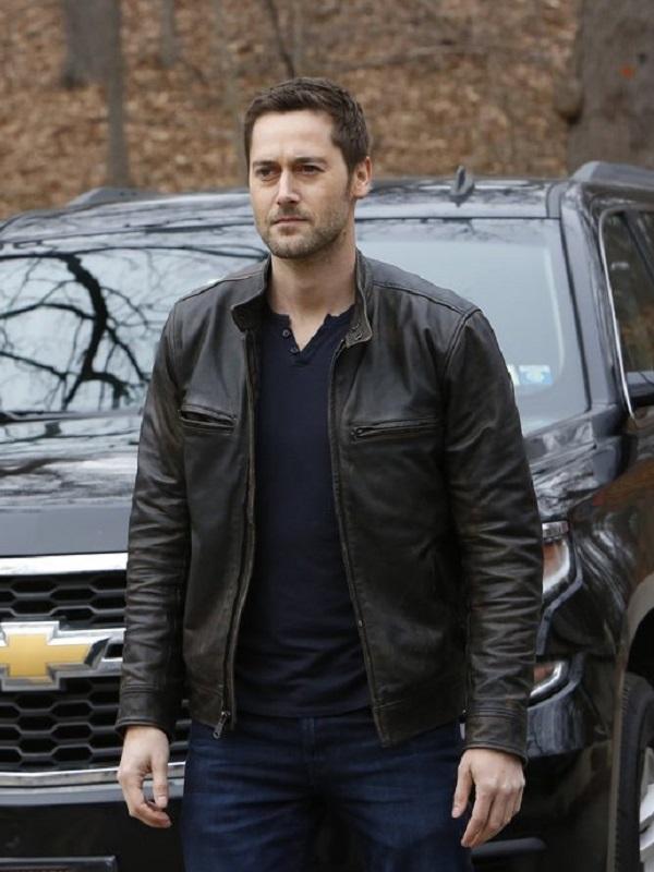 The Blacklist Redemption Tom keen Leather Jacket