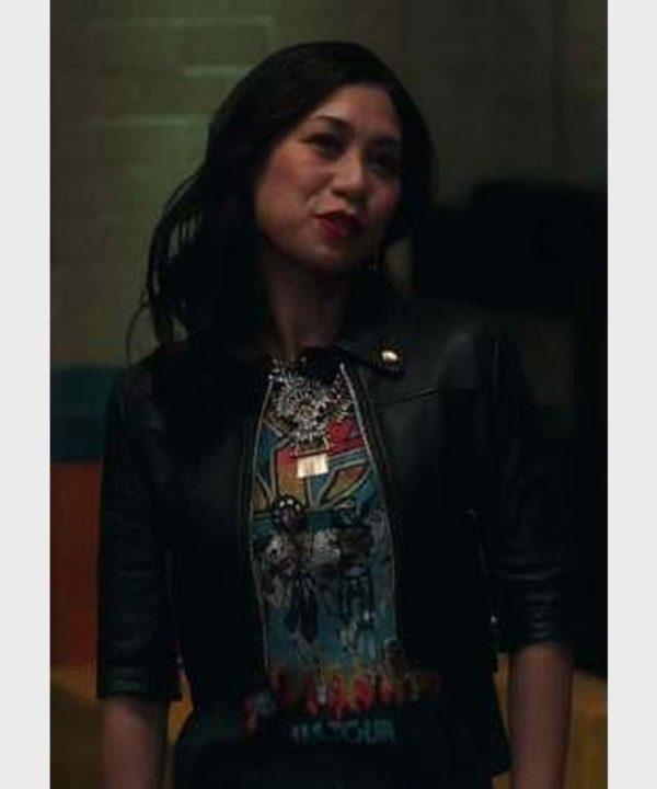 The Equalizer Melody Bayani Cropped Jacket