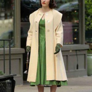 The Marvelous Mrs. Maisel Miriam Maisel Beige Coat