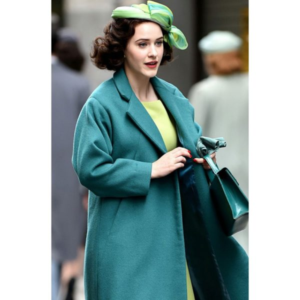 The Marvelous Mrs. Maisel Miriam Maisel Turquoise Coat Coat