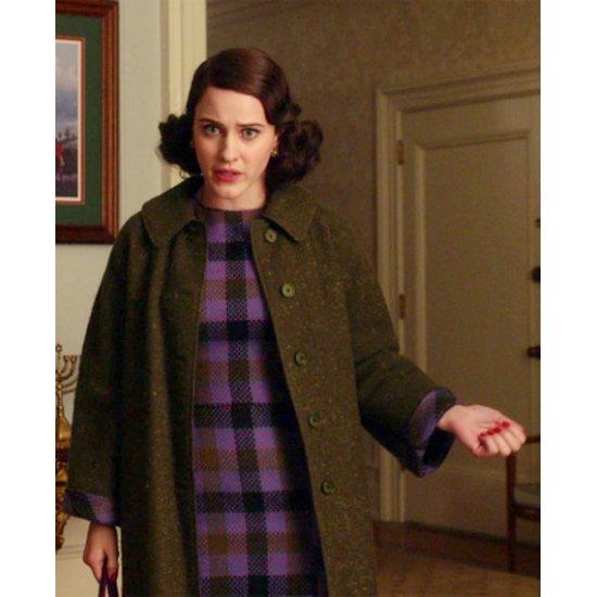 The Marvelous Mrs. Maisel Miriam Maisel Rachel Brosnahan Black Coat