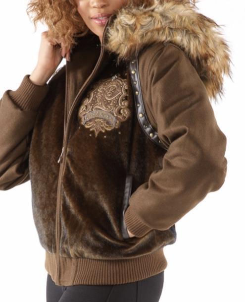 Women's Pelle Pelle Faux Fur Hoody Jacket